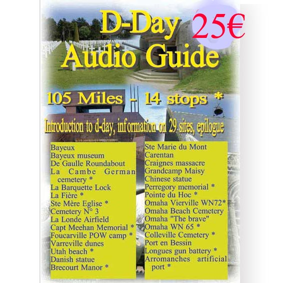 D-day audio guide American sector -Download